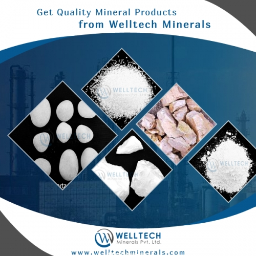 Get High-Quality Quartz Product from Industrial Minerals Supplier in India