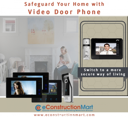 Secure Your Place with a Video Door Phone from eConstruction Mart